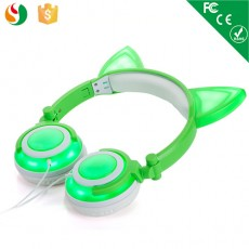 Newest Rechargeable LED Flashing Kids Headphones OEM Wholesales